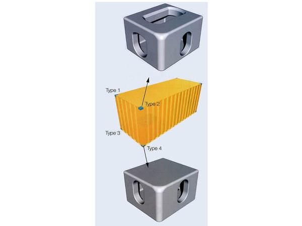 Herrajes de esquina de la casa container fabricante etw - Casa container espana ...