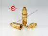 Acople hidráulico rápido y neumático de bronce de presión media y alto desempeño LSQ-S8