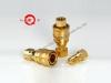 Acople hidráulico rápido y neumático de bronce de presión media y alto desempeño KZD