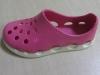 Molde de inyección de zapatos bicolores en goma EVA