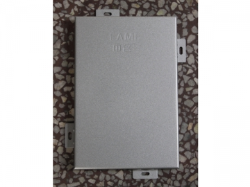 Panel de aluminio revestido de PVDF