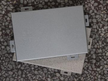 Panel de aluminio con revestimiento en polvo