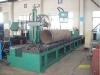 Máquina de corte y biselado por llama para tuberías (tipo banco de rodillos)