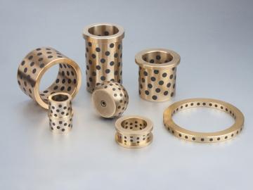 Rodamiento de aluminio y bronce con lubricante por agua #50AB-SL1