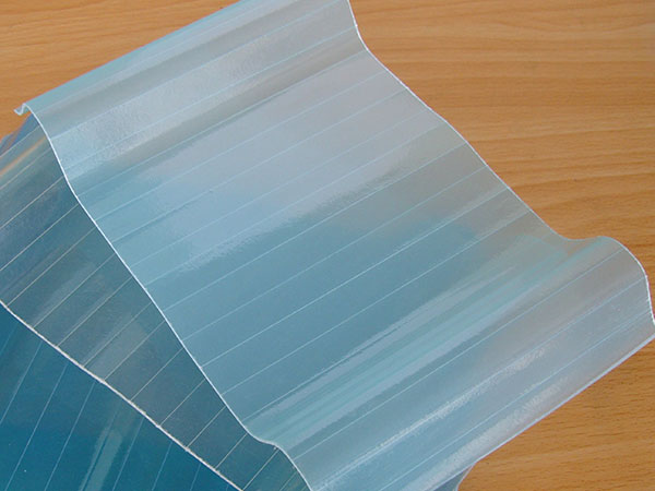 Placa l mina de poli ster reforzado con fibra de vidrio - Placas de poliester ...