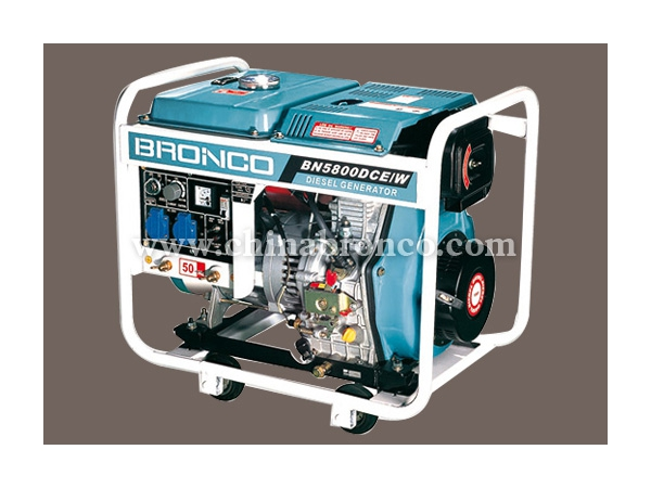 Grupo electrógeno diesel, Generador refrigerado por aire BN5800DCE