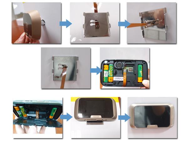 Mirilla digital de puerta fabricante etw spain - Mirilla puerta digital ...