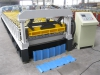Máquina para fabricar tejas de acero / Perfiladora de tejas de acero