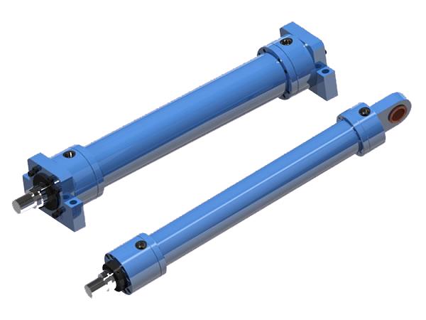 Cilindro hidráulico de media presión - Hoyo