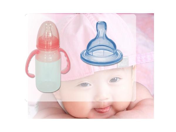 Caucho de silicona liquida LSR para chupos de bebe